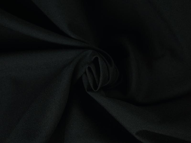 gabardyna czarna