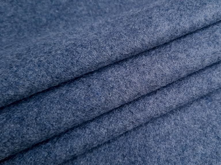 Tkanina historyczna niebieska