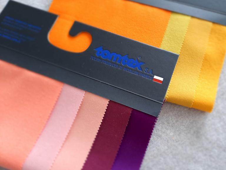 Tkaniny pieluchowe kolorowe